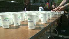 Marathon hydration (4 of 4) - stock footage