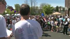 Stock Video Footage of Marathon festivities (1 of 13)