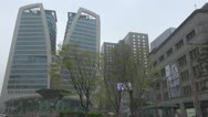 Stock Video Footage of Downtown in Seoul, South Korea