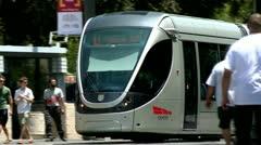 City Train of Jerusalem 4 Stock Footage