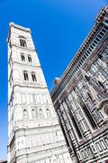 Giotto's campanile Stock Photos