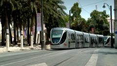 City Train of Jerusalem 3 Stock Footage