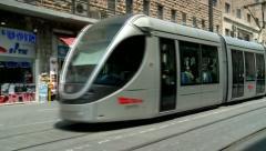 City Train of Jerusalem 5 Stock Footage