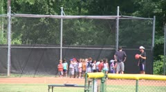 Little league kickball (1 of 3) Stock Footage