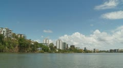 Brisbane moving cityscape (3) Stock Footage