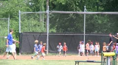 Little league kickball (3 of 3) Stock Footage