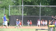 Stock Video Footage of Little league kickball (3 of 3)