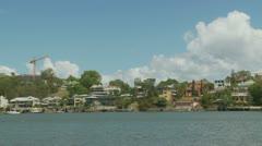 Brisbane river timelapse Stock Footage