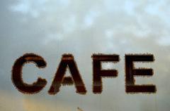 Modern cafe - stock photo