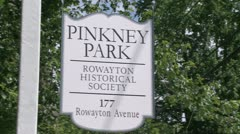 Pinkney Park (2 of 3) Stock Footage