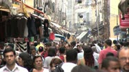 Stock Video Footage of Very Crowded Marketplace in Favela of Rio De Janeiro, Brazil 3