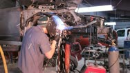 Stock Video Footage of Mig Welding