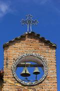 Church tower in Santa Elena, Colombia Stock Photos