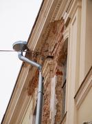 Damaged exterior Stock Photos