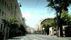 Jaffa Street of Jerusalem 1 Stock Footage