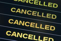 Cancelled Stock Photos