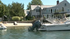 Setting sail on the lake (21 of 22) Stock Footage