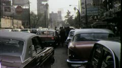 Federal District MEXICO CITY Street Scene 1960s ? (Vintage Film Home Movie) 4343 Stock Footage