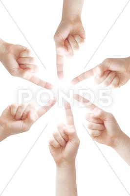 Stock photo of fingers