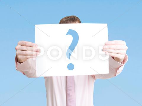 Stock Illustration of question mark