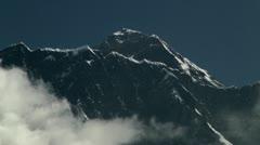 Summit of Mt. Everest - stock footage