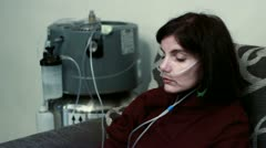 Lung diseases Stock Footage
