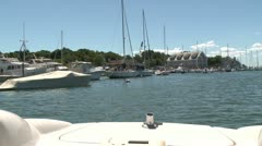 Setting sail on the lake (2 of 22) Stock Footage