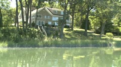 Cruising down the lake (9 of 15) Stock Footage