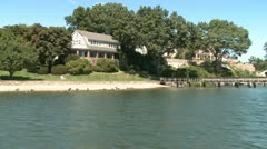 Cruising down the lake (5 of 15) Stock Footage