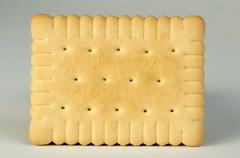 biscuit close up - stock photo