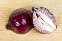 onions shallots - stock photo