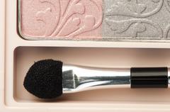 makeup cosmetics - stock photo