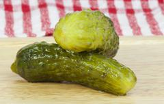 pickles - stock photo