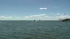 Cruising down the lake (2 of 15) Stock Footage