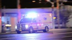 Ambulance  Stock Footage