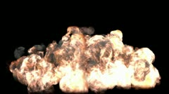 Super large Explosion II Stock Footage