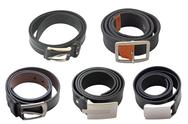 Collection of belts Stock Photos