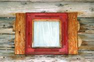 Small lodge window Stock Photos
