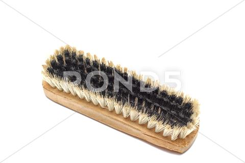 Stock photo of shoe brush