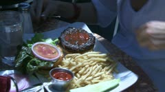 Delicious foods (3 of 4) Stock Footage