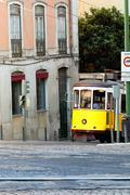 Stock Photo of lisbon tram