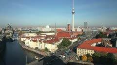 Skyline from Berlin Stock Footage