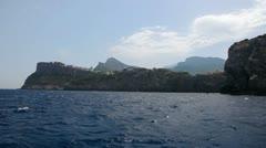 Seashore of Mallorca Island, Balearic Islands, Spain Stock Footage