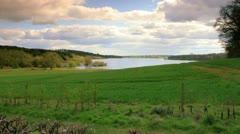 Blithfield Reservoir daytime Stock Footage