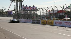 American Le Mans Race During Long Beach Grand Prix 2011 07 Stock Footage