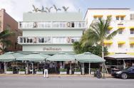 Pelican Hotel Stock Photos