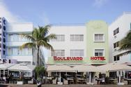 Boulevard Hotel Stock Photos