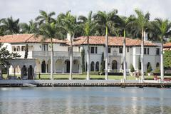 Luxury mansion Stock Photos