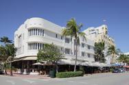 The Cordozo Hotel Stock Photos