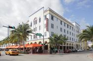 The Edison Hotel Stock Photos